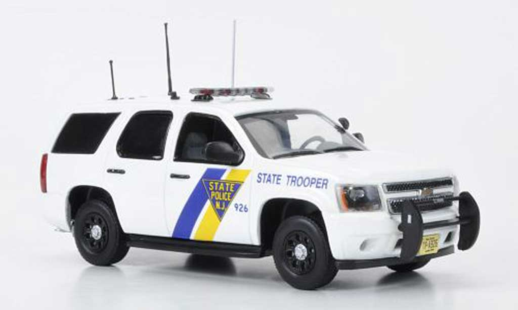 Chevrolet Tahoe 1/43 First Response New Jersey State Police 2011 miniature