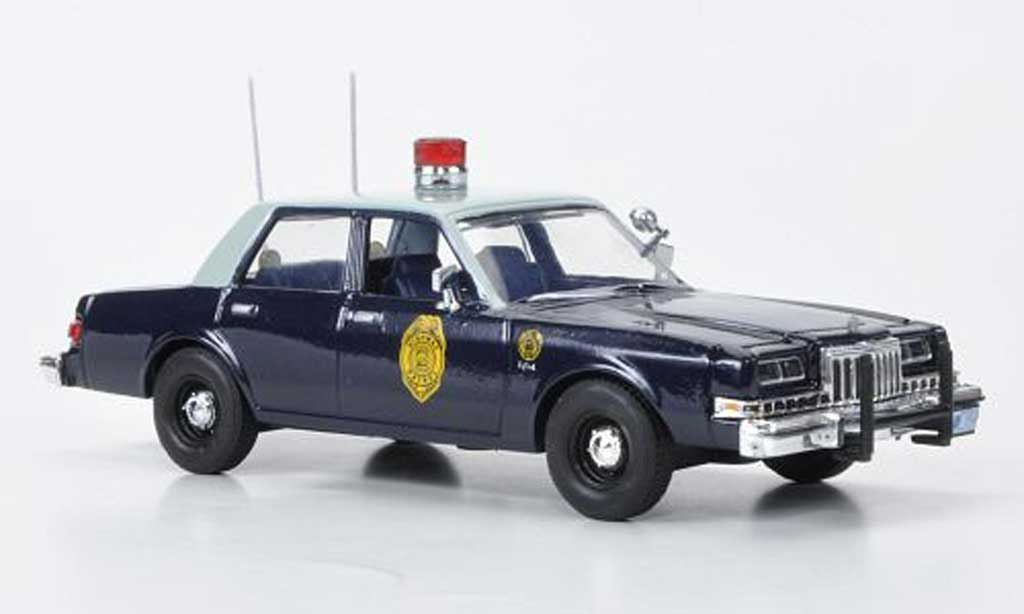 Dodge Diplomat 1/43 First Response Kansas Highway Patrol 1985 miniature