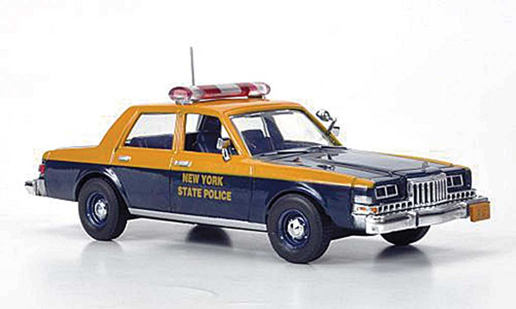 Dodge Diplomat 1/43 First Response New York State Police 1985 miniature