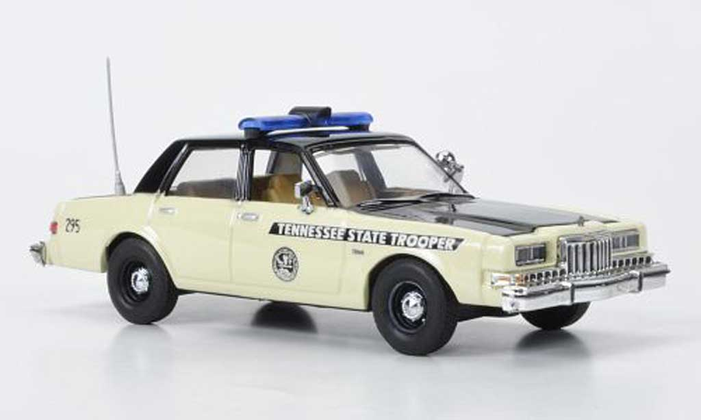 Dodge Diplomat 1/43 First Response Tennessee Highway Patrol 1985 miniature