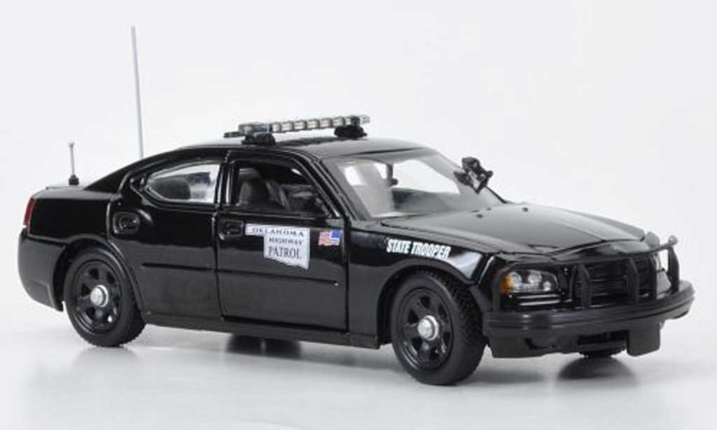 Dodge Charger Police 1/43 First Response Oklahoma Highway Patrol - State Trooper Polizei (US) miniature