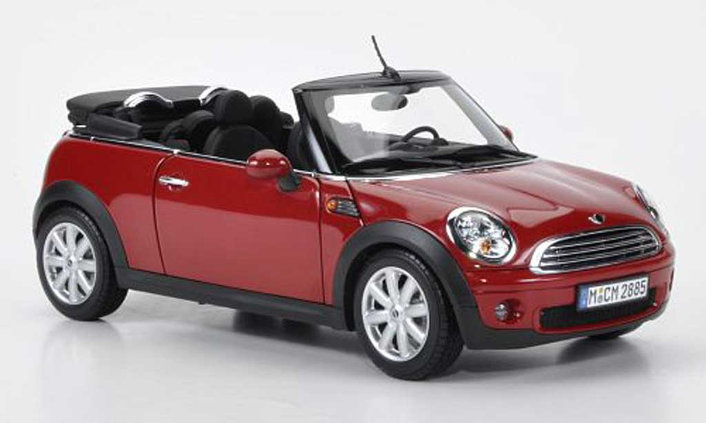 mini cabriolet red kyosho diecast model car 1 18 buy sell diecast car on. Black Bedroom Furniture Sets. Home Design Ideas
