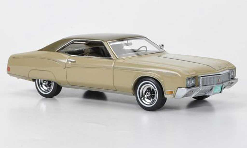 Buick Riviera 1970 1/43 American Excellence Mk.II beige/marron limited edition miniature