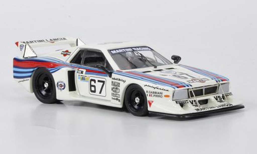 Lancia Beta Monte Carlo 1/43 Best No.67 Martini Racing Pirro / Gabbiani 24h Le Mans 1981 miniature