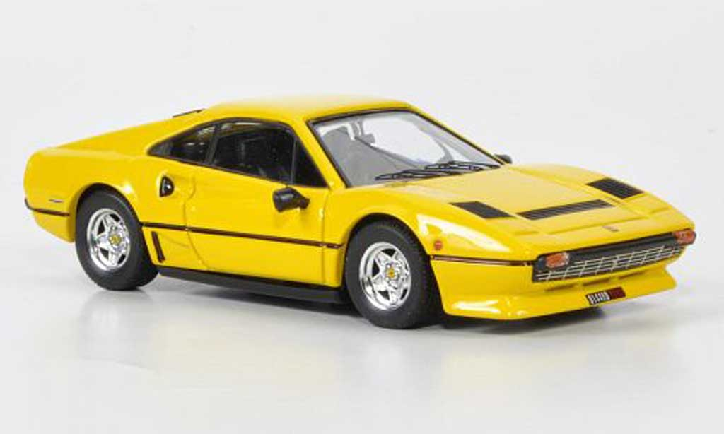 Miniature Ferrari 208 GTB Turbo jaune 1982 Best. Ferrari 208 GTB Turbo ...