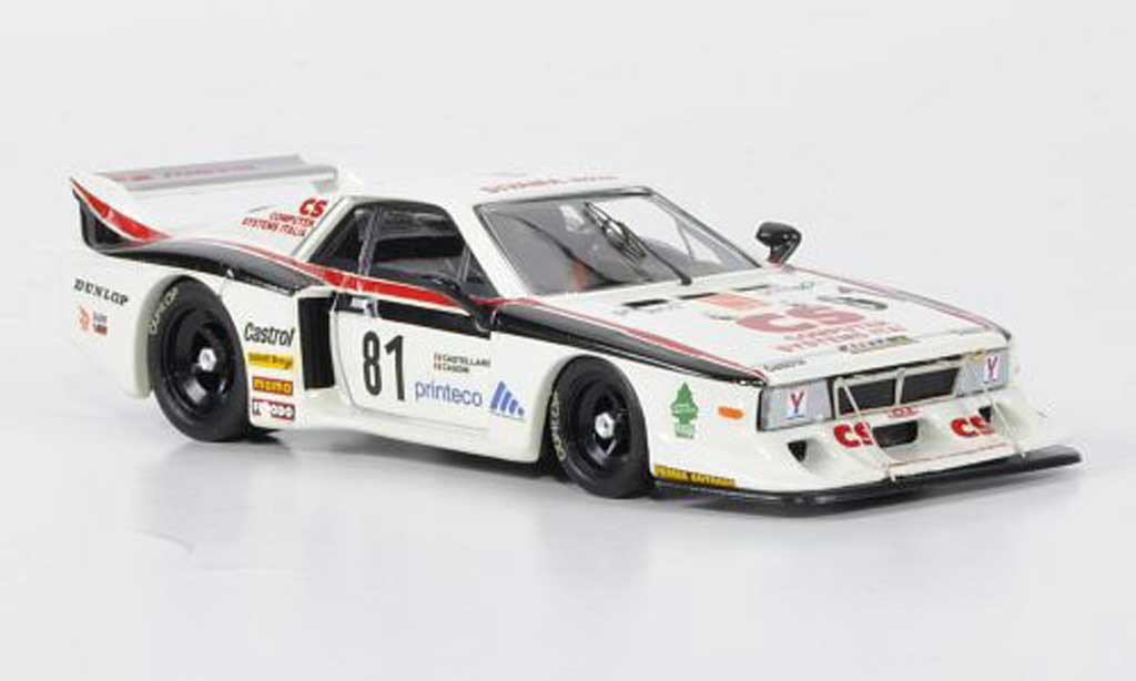 Lancia Beta Monte Carlo 1/43 Best Turbo No.81 Vesuvio Racing Casoni / Castellano Monza 1982 miniature