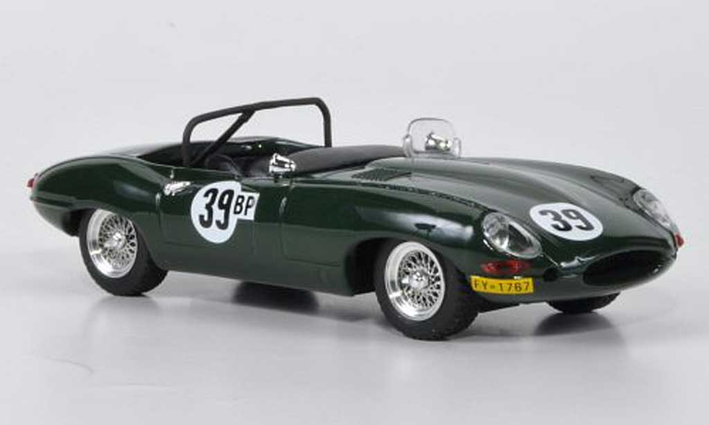 Jaguar E-Type 1965 1/43 Best 1965 Roadster No.39 D.R.Smolen Virginia International Raceway coche miniatura