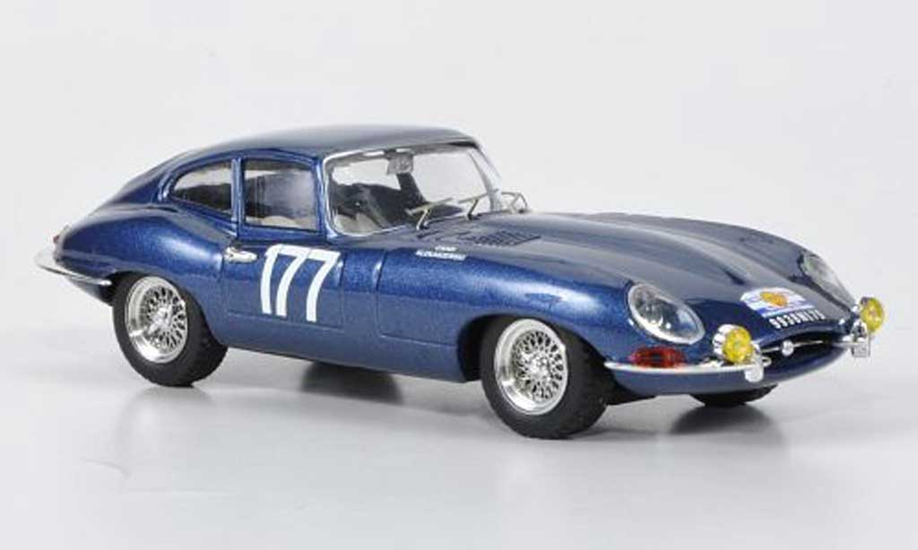 Jaguar E-Type 1963 1/43 Best 1963 No.177 Cardi / Klukaszewski Tour de France miniature