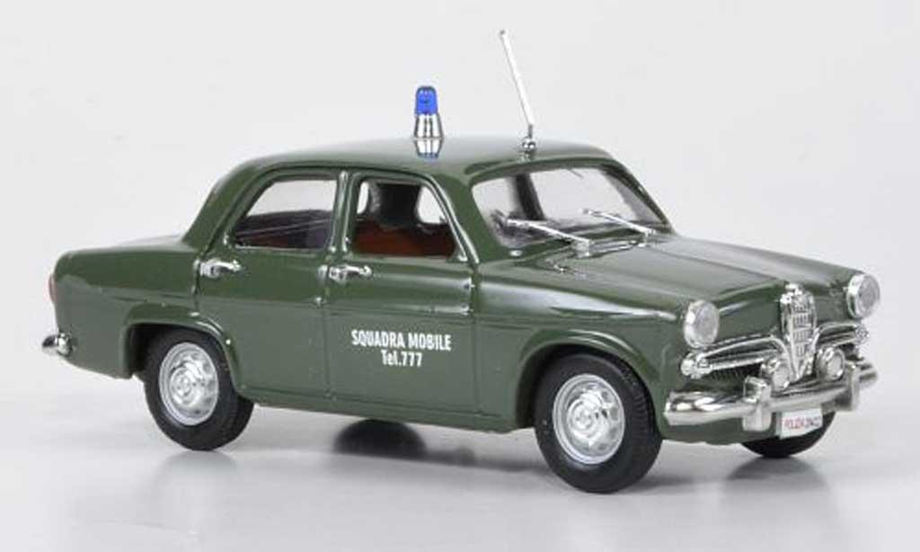 Alfa Romeo Giulietta Ti 1/43 Rio Squadra Mobile Polizei miniature