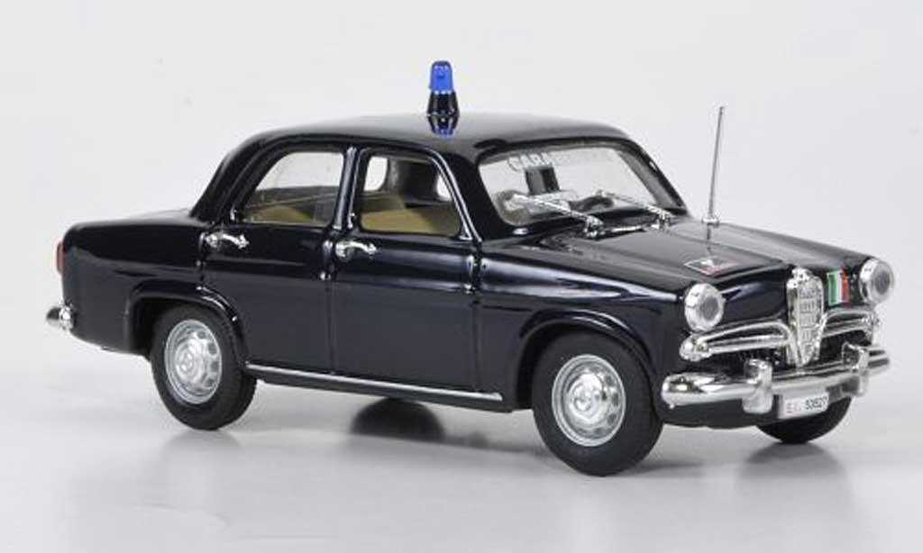 Alfa Romeo Giulietta Ti 1/43 Rio Carabinieri Polizei miniature