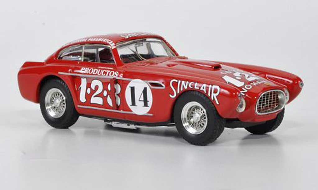 Ferrari 340 1/43 Art Model Mexico No.14 Ascari / Scotuzzi Carrera Panamericana 1952 miniature