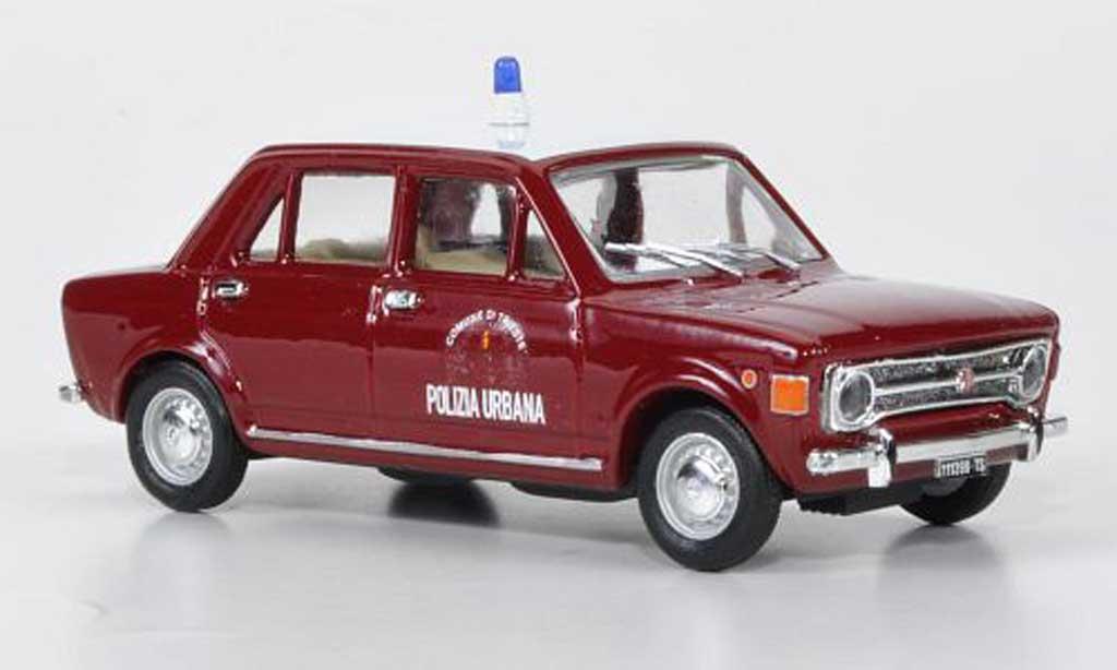 Fiat 128 1/43 Rio Polizia Urbana - Comune di Trieste Polizei miniature