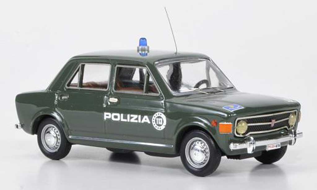 Fiat 128 1/43 Rio Polizia Polizei miniature