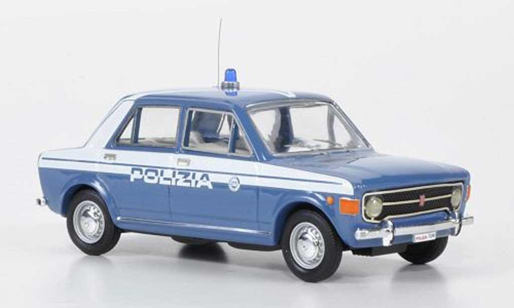 Fiat 128 1/43 Rio Polizia Stradale Polizei miniature
