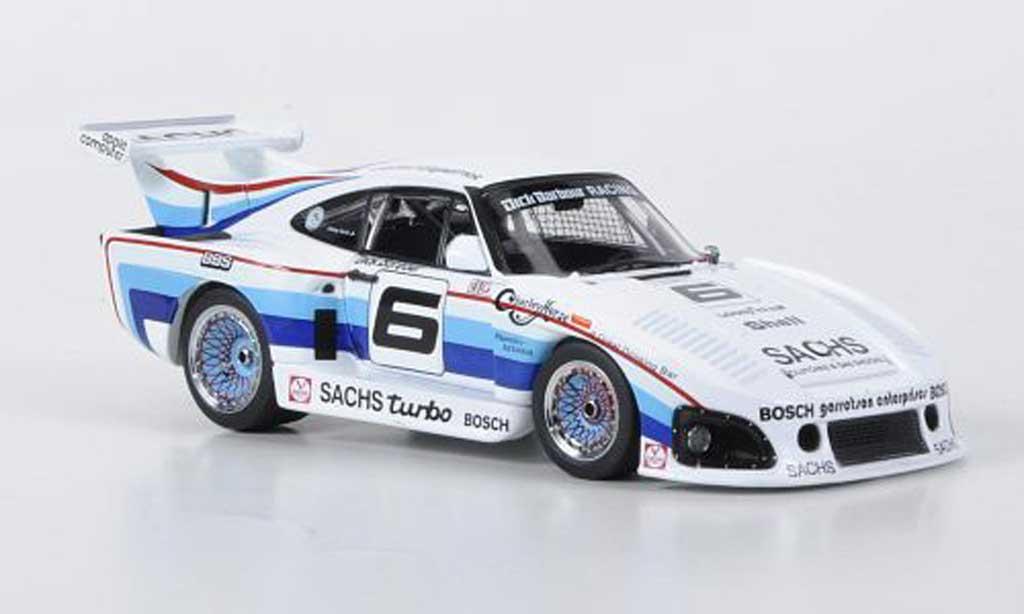 Porsche 935 1980 1/43 Ebbro K3 No.6 Dick Barbour Racing J.Fitztpatrick IMSA GT miniature