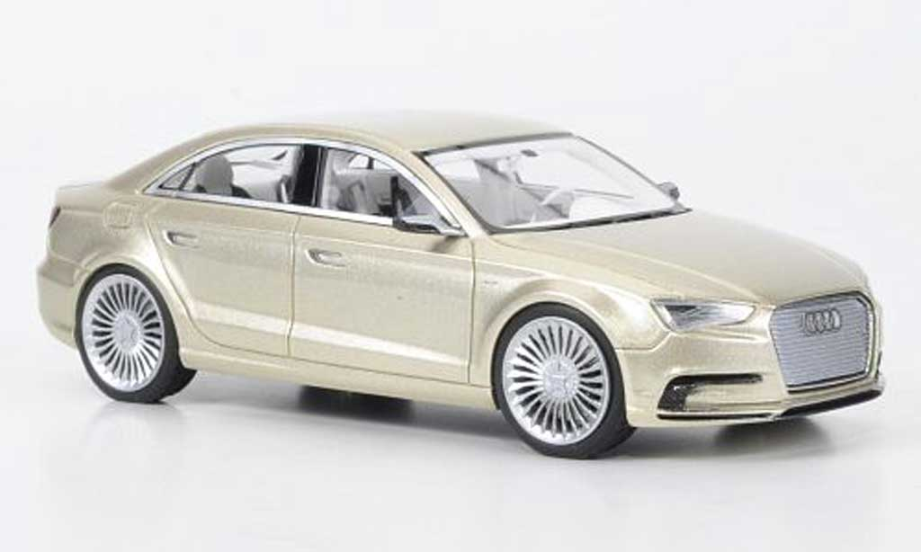 Audi A3 1/43 Look Smart Concept beige Shanghai Motorshow 2011 miniature
