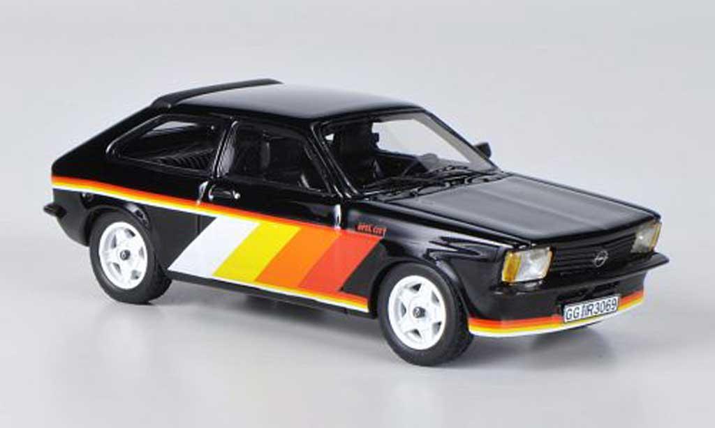 Opel Kadett C 1/43 Neo City Irmscher noire miniature