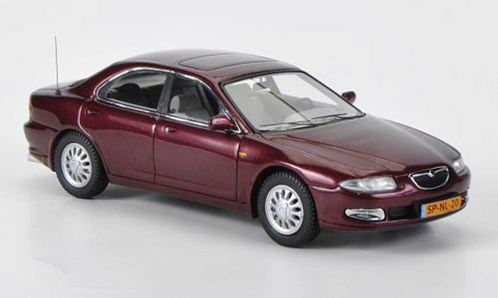 mazda xedos miniature 6 rouge 1992 neo 1 43 voiture. Black Bedroom Furniture Sets. Home Design Ideas