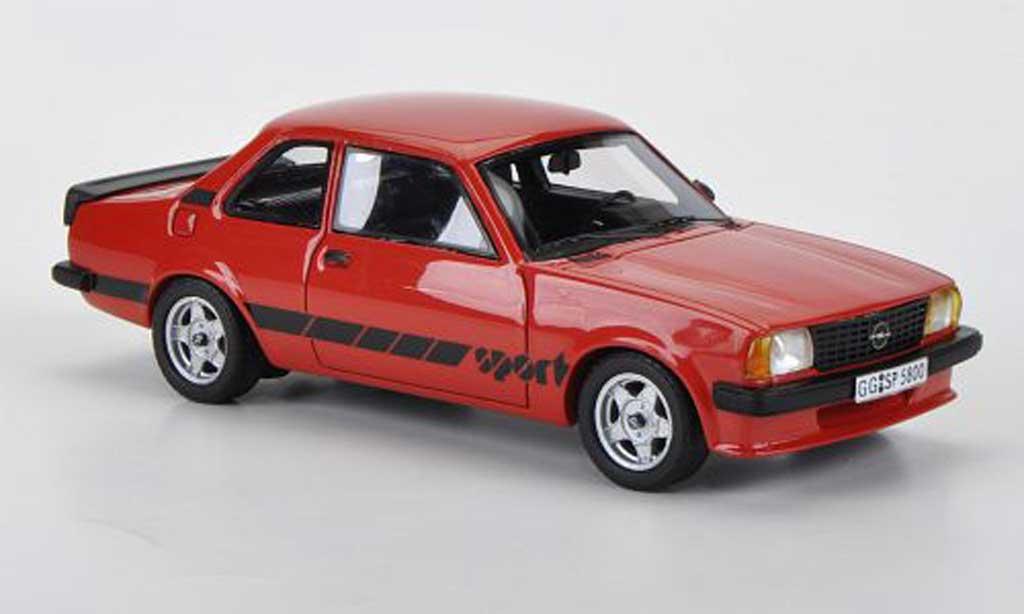 Opel Ascona B 1/43 Neo Sport rouge 1980 miniature