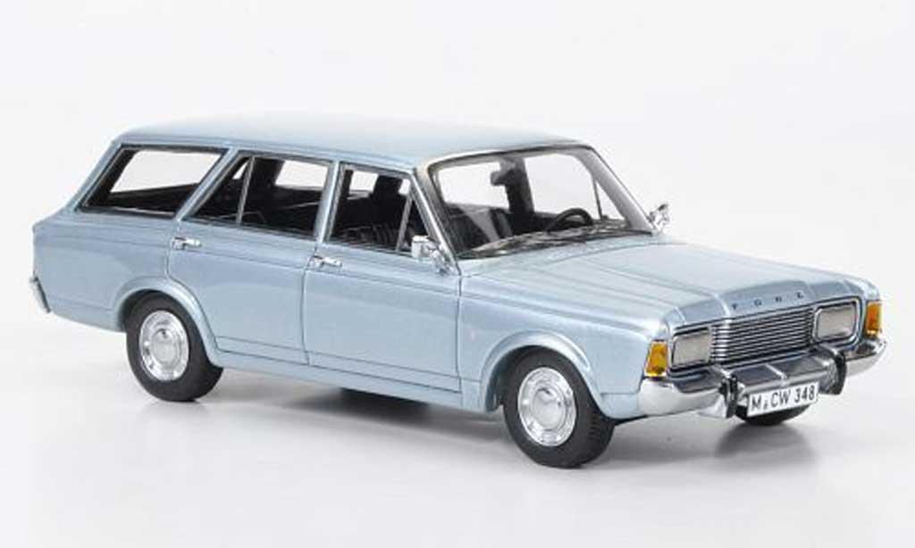 ford taunus 1969 p7b tunier blau limited edition neo modellauto 1 43 kaufen verkauf. Black Bedroom Furniture Sets. Home Design Ideas