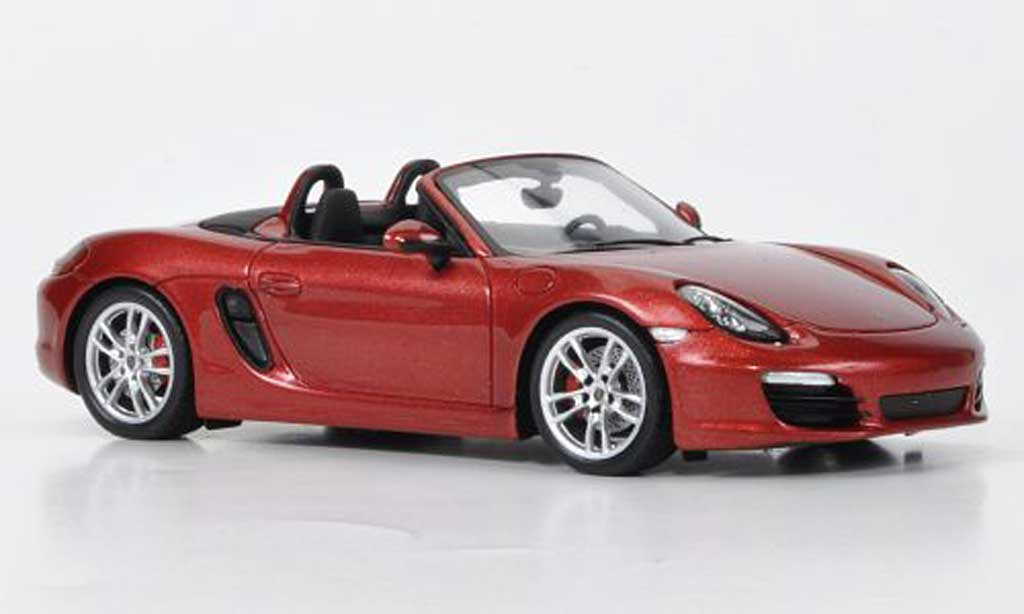 Porsche Boxster 1/43 Spark S red 2011 diecast model cars