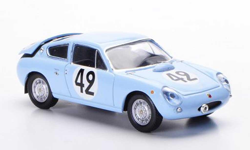 Simca 1300 Abarth 1/43 IXO Abarth No.42 H.Oreiller / T.Spychiger 24h Le Mans 1962 miniature