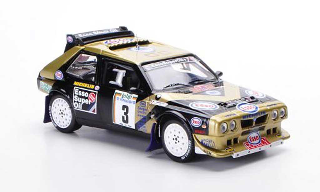 Lancia Delta S4 1/43 IXO No.3 Esso F.Tabaton / L.Tedeschini Rally Elba 1986 miniature