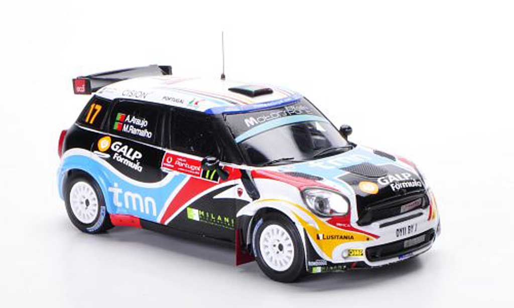 Mini Countryman JCW 1/43 IXO No.17 A.Araujo / M.Ramalho Rally Portugal 2011 miniature