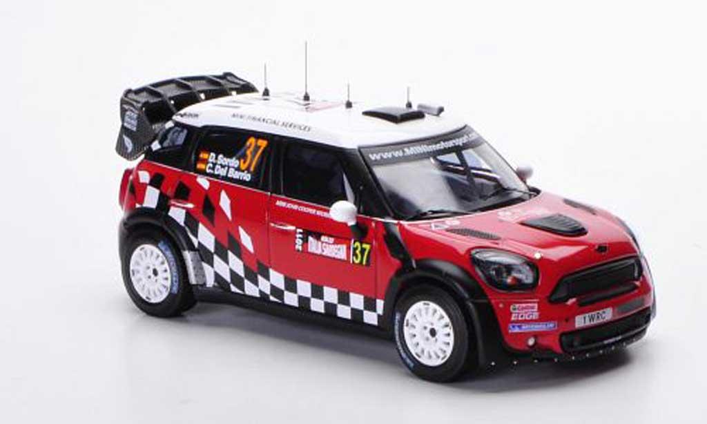 Mini Countryman JCW 1/43 IXO WRC No.37 D.Sordo / C.Del Bario Rally Sardegna 2011 miniature