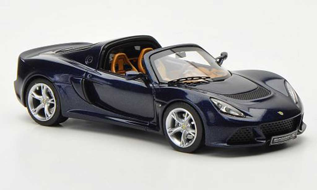 Lotus Exige 1/43 Look Smart S Roadster bleu LHD Autosalon Genf 2012 miniature