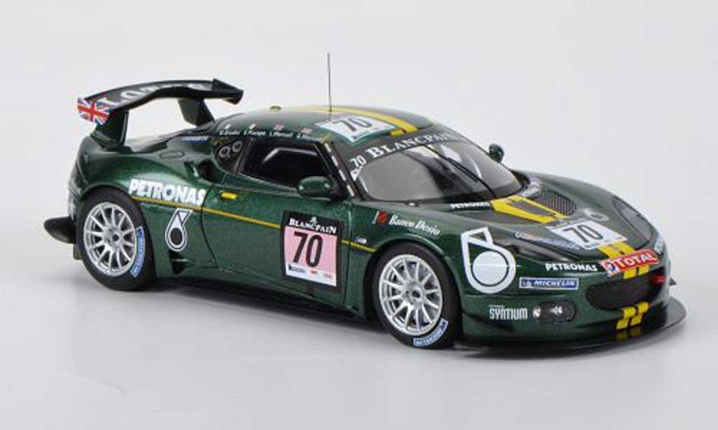 Lotus Evora 1/43 Spark No.70 E.Piscopo / G.Mansell / L.Mansell / G.Giudici 24h Spa 2011 miniature