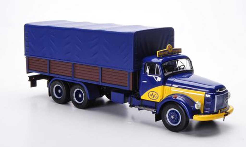 Volvo N88 1/43 IXO ASG Transport Spedition PP-LKW 1969 miniature