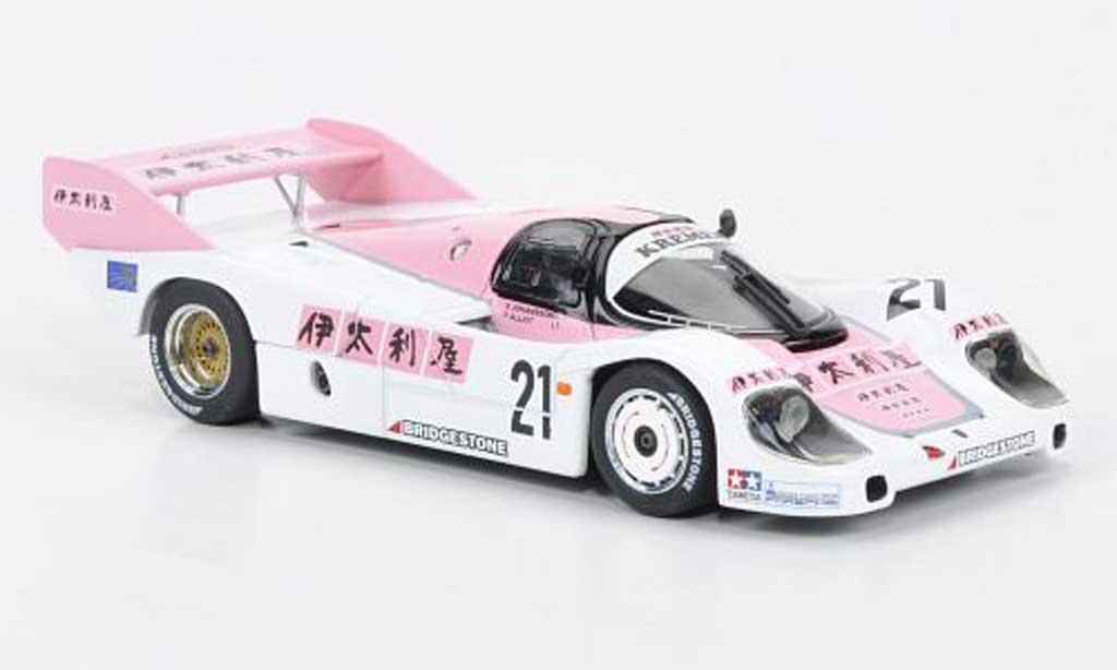 Porsche 956 1983 1/43 Ebbro WEC Italien Fuji 1000KM miniature