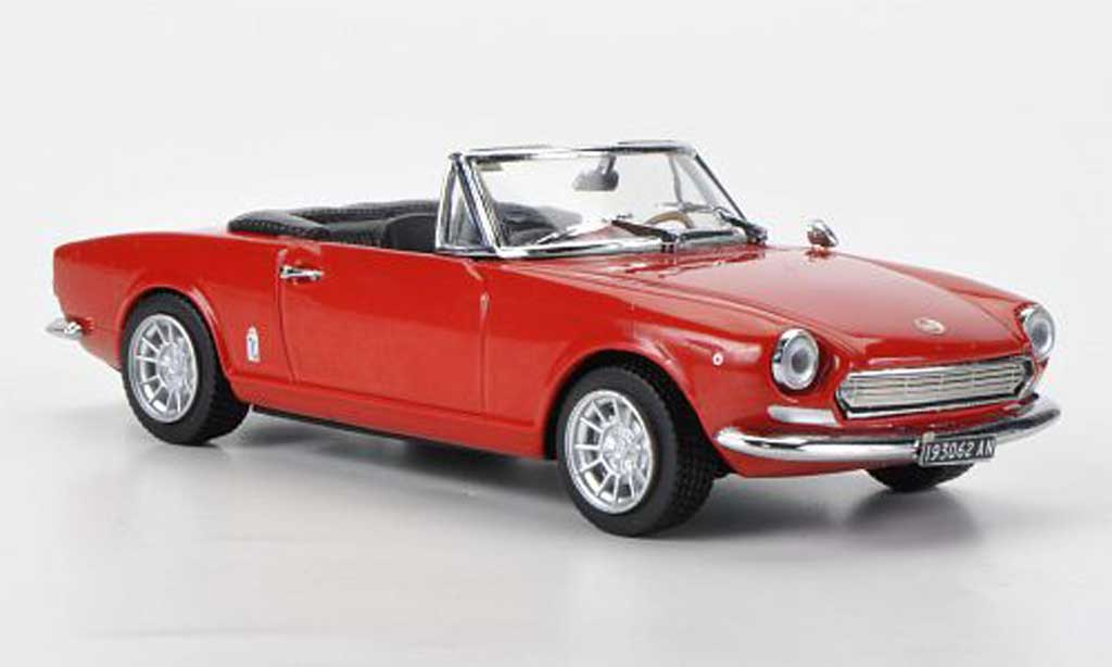 Fiat 124 Spider 1/43 Vitesse AS rouge miniature