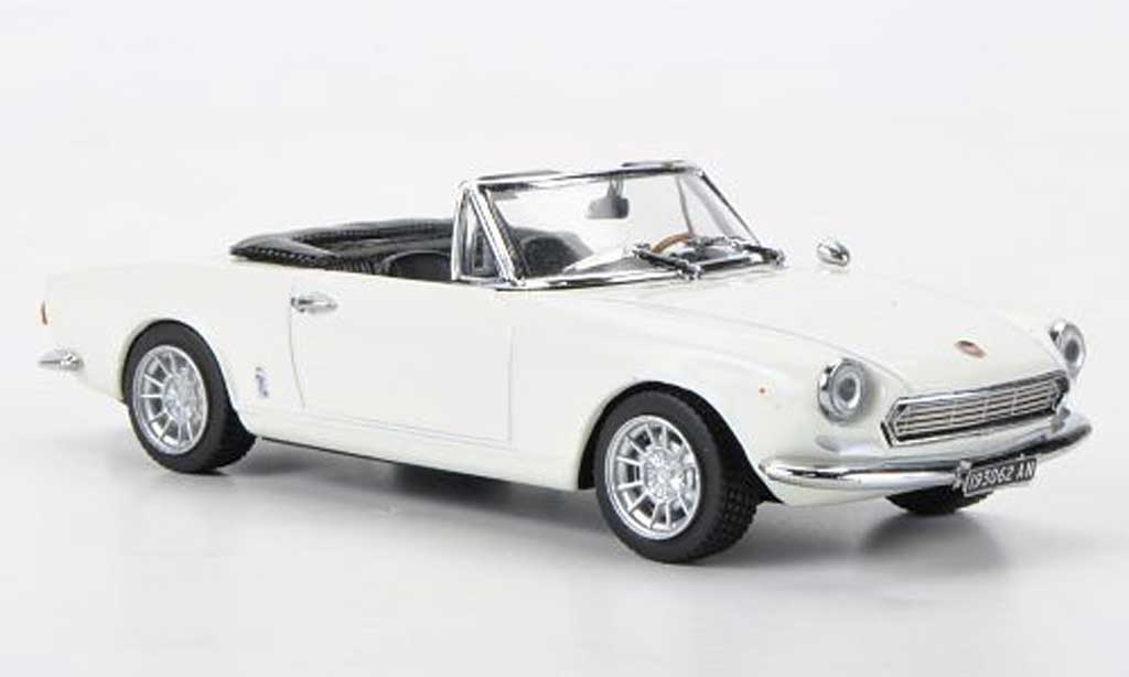 Fiat 124 Spider 1/43 Vitesse AS blanche miniature