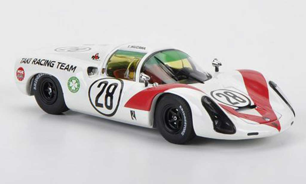 Porsche 910 1968 1/43 Ebbro No.28 Taki Racing Team T.Ikuzawa GP Japan diecast model cars