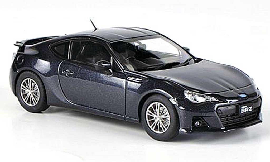 Subaru BRZ 1/43 Ebbro grau RHD 2012