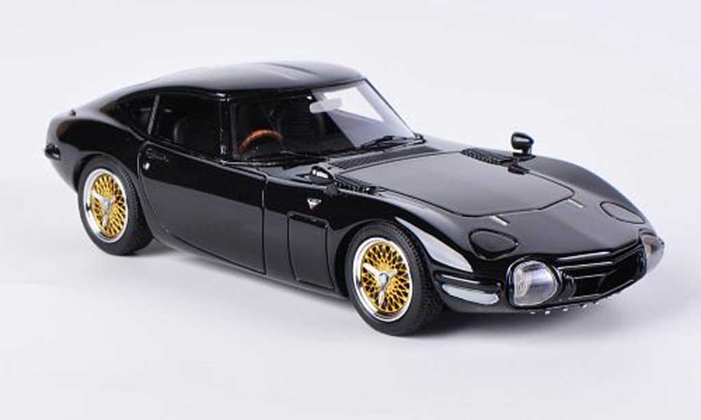 toyota 2000 gt miniature noire rhd hpi 1 43 voiture. Black Bedroom Furniture Sets. Home Design Ideas