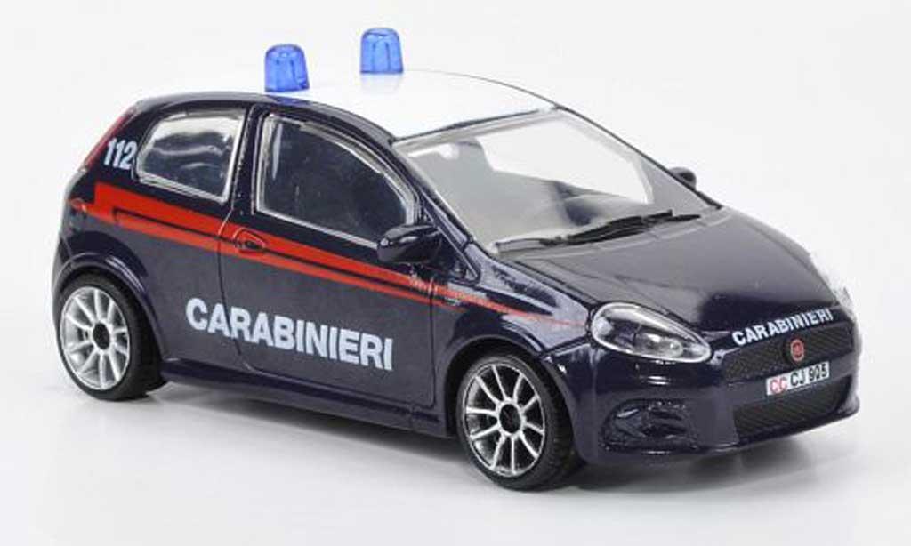 Fiat Punto 1/43 Motorama Carabinieri / Polizei miniature