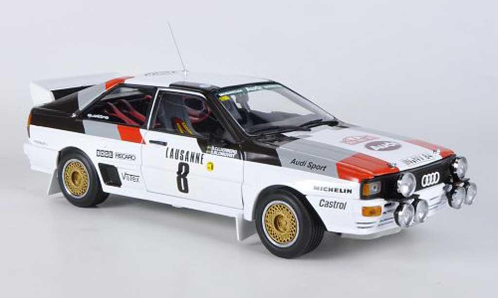 Audi Quattro 1/18 Sun Star A1 No.8 Rally Monte Carlo 1983 S.Blomqvist/B.Cederberg miniature