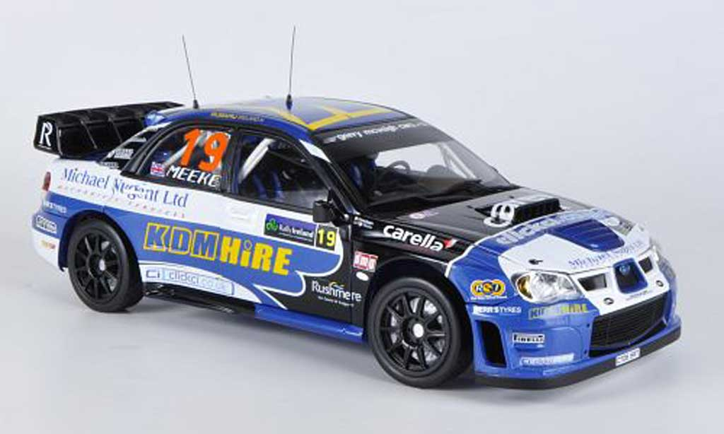 Subaru Impreza WRC 1/18 Sun Star 06 No.19 Rally Ireland 2007 K.Meeke/P.Nagle miniature