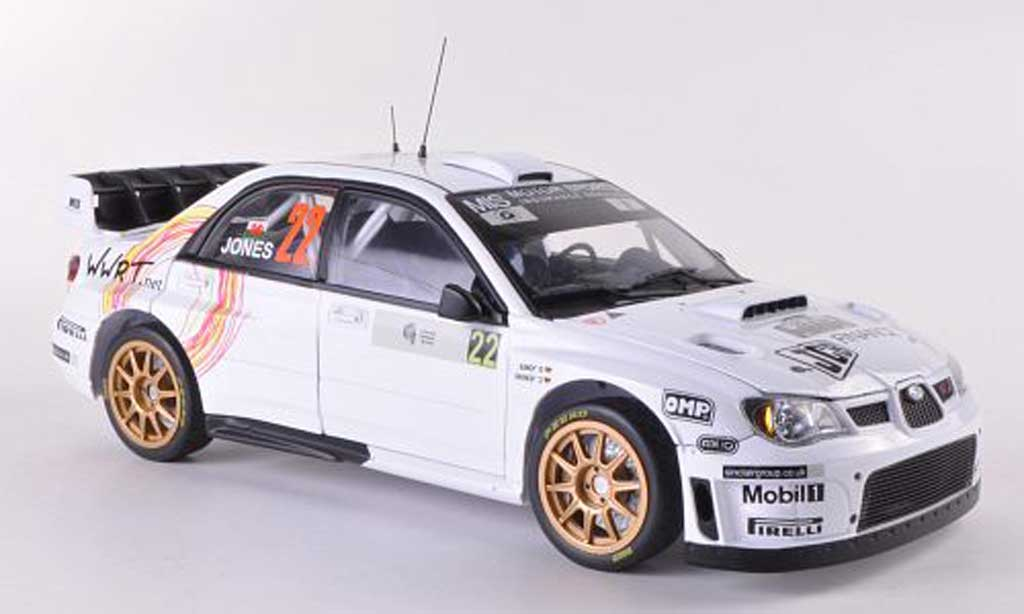 Subaru Impreza WRC 1/18 Sun Star 07 No.22 Tour de Corse - Rally de France  2008 G.Jones/C.Jenkins miniatura