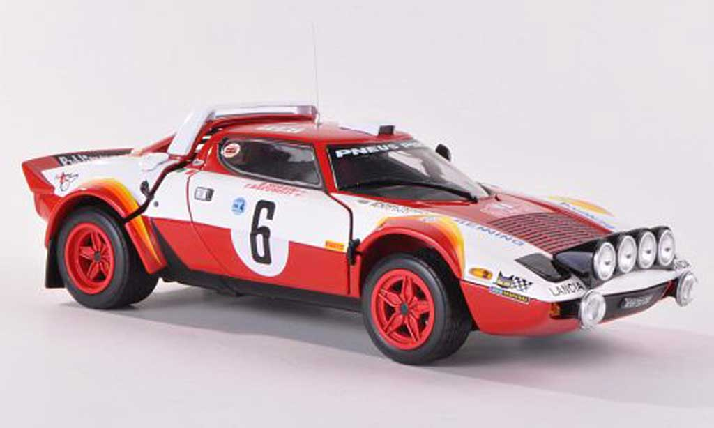 Lancia Stratos HF 1/18 Sun Star Rally No.6 Publimmo-Racing Rally Monte Carlo 1979 miniature