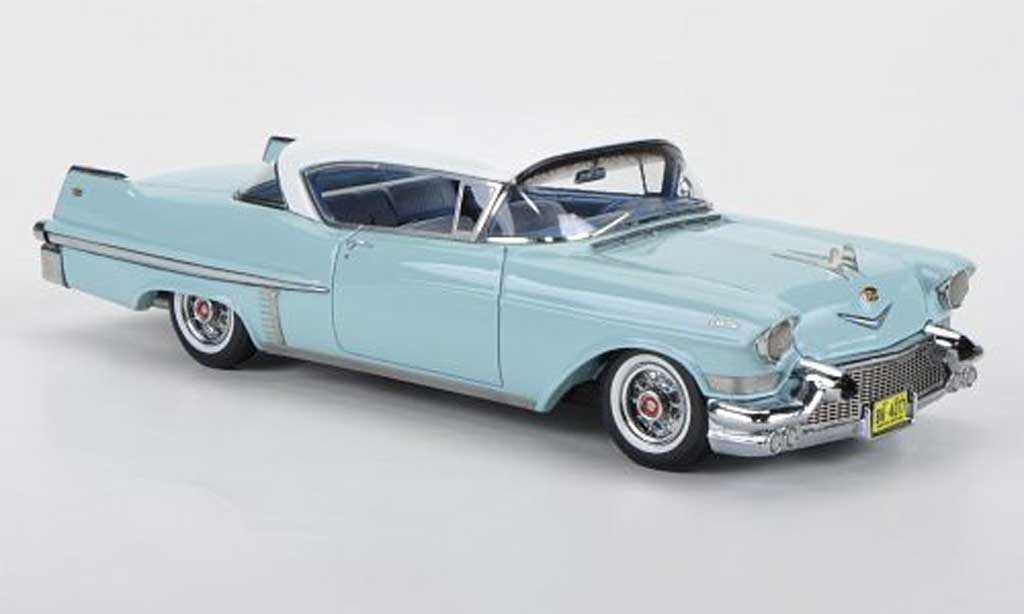 Cadillac Serie 62 1957 1/43 American Excellence Hardtop Coupe turquoise/blanche miniature