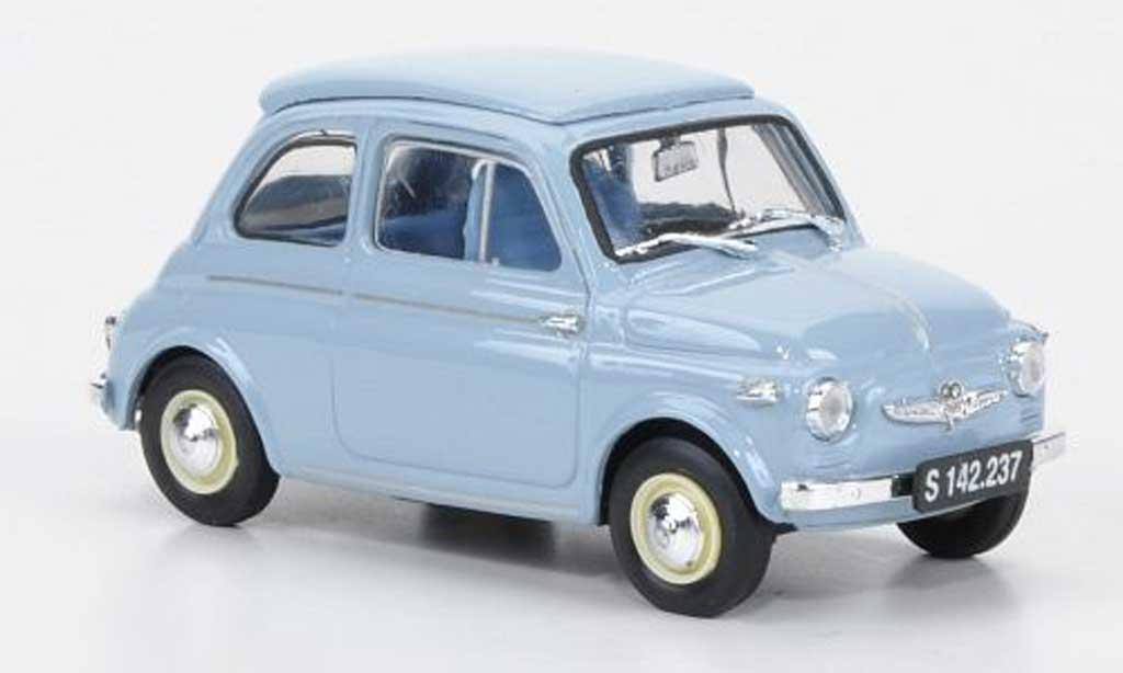 Steyr Puch 500 1/43 Brumm D bleu 1959 miniature