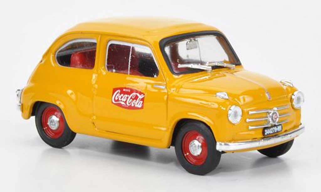 Fiat 600 1/43 Brumm Coca Cola 1a Serie GP Monza 1961 1961 miniature