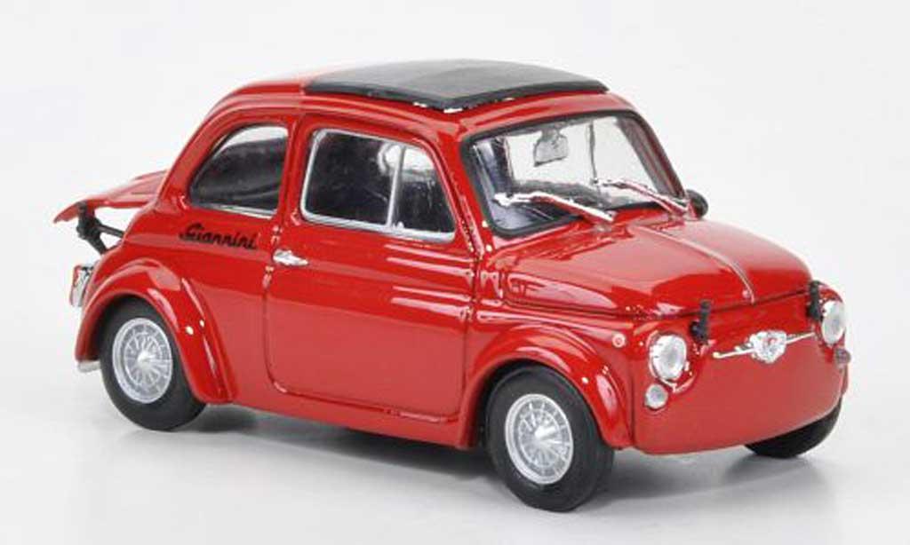 Fiat 590 1/43 Brumm Giannini GT rouge 1969 1969 miniature