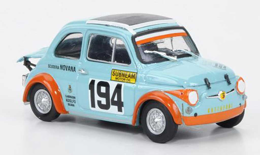 Fiat 595 1/43 Brumm SS Abarth Gattafori 1971 No194 1971 diecast model cars
