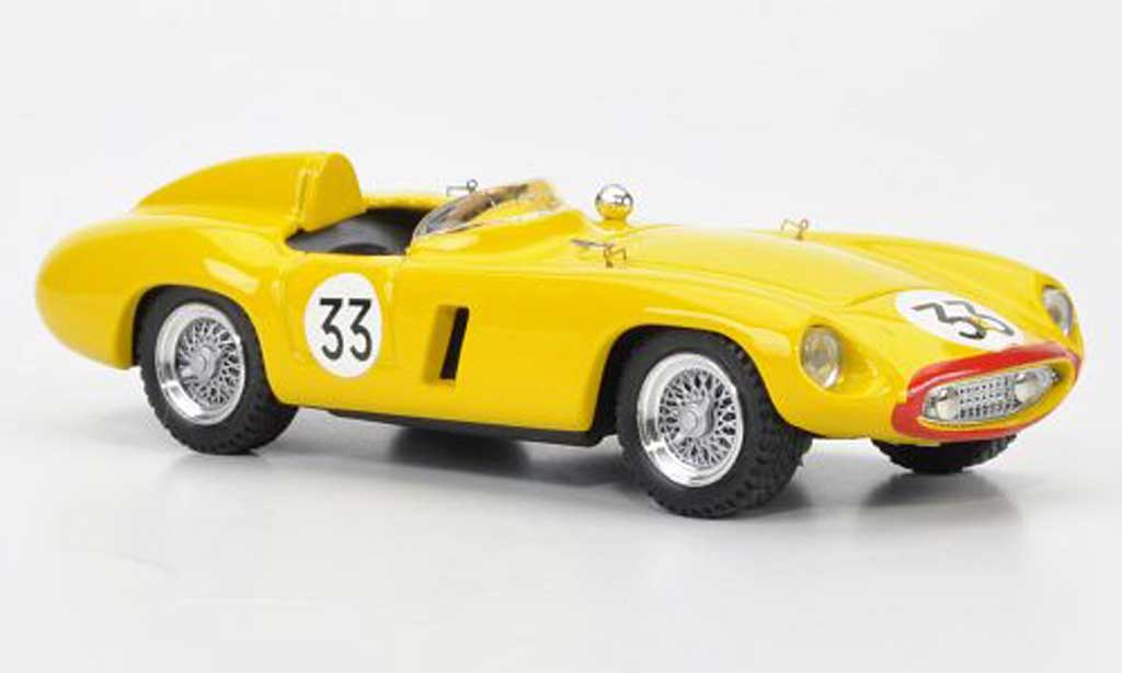 Ferrari 750 1955 1/43 Brumm No.33 Jacques Swaters 24h Le Mans diecast model cars