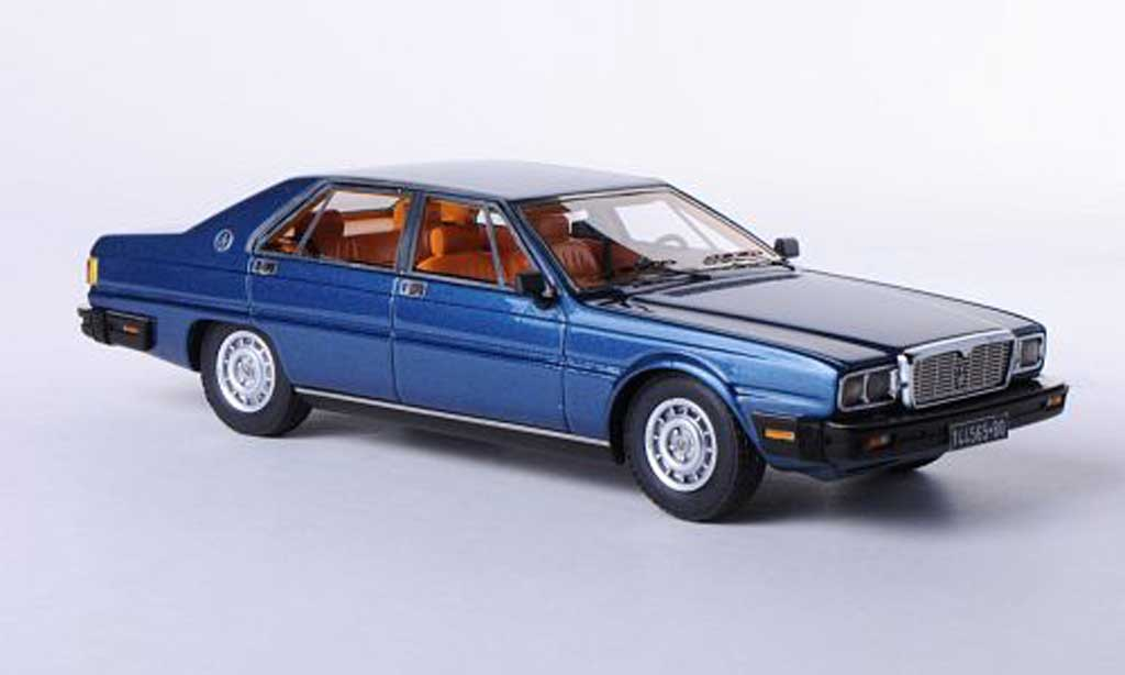 maserati quattroporte iii blau 1978 neo modellauto 1 43. Black Bedroom Furniture Sets. Home Design Ideas